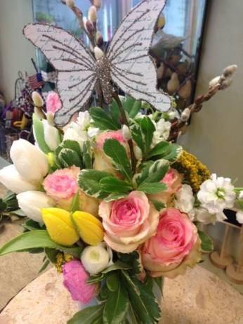 Spring seasonal arrangement...