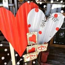 valentine's decor...