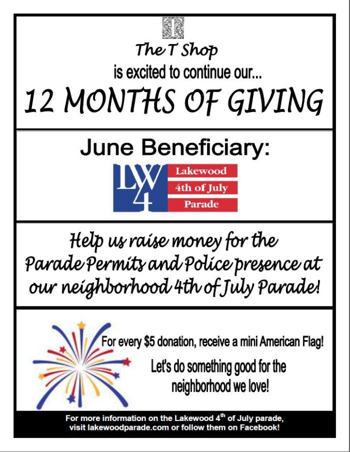 parade 12 months of giving